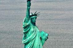 statue of liberty birds eye view - Google Search