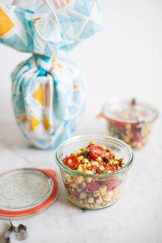 Bacon Corn Avocado and Tomato Salad #sweetsurprisesweeps