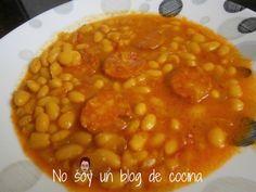 No soy un blog de cocina: POTAJE DE JUDIAS CON CHORIZO