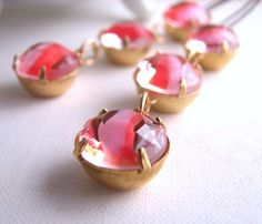 Pretty in Pink! earrings