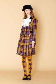 Tartan Fashion, Quirky Fashion, Colorful Fashion, Cute Fashion, Vintage Fashion, Harajuku Fashion, Kawaii Fashion, Runway Fashion, Fashion Show