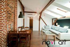 Salas de estilo moderno por Novi art