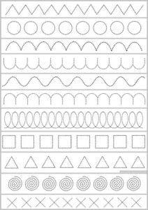 Grade R Worksheets, Line Tracing Worksheets, Printable Preschool Worksheets, Free Kindergarten Worksheets, Writing Worksheets, Alphabet Worksheets, Worksheets For Kids, Tracing Lines, Preschool Writing