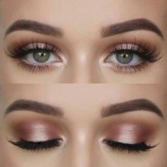 Natural makeup for green eyes, love it - - Natural makeup for green eyes, love it Beauty Makeup Hacks Ideas Wedding Makeup Looks for Women Makeup Tips Prom Makeup ideas Cut Natural Makeup Hallo. Makeup Hacks, Makeup Inspo, Makeup Inspiration, Makeup Style, Eye Makeup Tutorials, Style Inspiration, Eyeliner Hacks, Wedding Inspiration, Hair Hacks