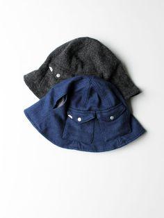 DECHO WOOL TULIP HAT Head And Neck, Dope Outfits, Mens Caps, Headgear, Buckets, Headdress, Caps Hats, Tulip, Hermes