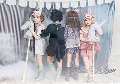NEW collection & Illustration by Anastasia Kurbatova for kids Circus Photography, Children Photography, Toddler Fashion, Kids Fashion, Belle And Boo, Baby Gallery, Circus Costume, Human Babies, Dress Up Dolls