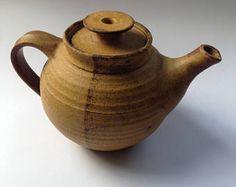 Earth and Fire Bruce Heggie stoneware teapot - Australian pottery - onlygoodvintage Brutalist Design, Australian Vintage, Vintage Pottery, Contemporary Jewellery, Vintage Buttons, Teapot, Stoneware, Scandinavian, Vintage Jewelry