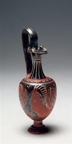 Ancient Apulian Oinochoe Magna Graecia Ca. 350 B.C. For Sale | Antiques.com | Classifieds