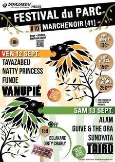 FESTIVAL du PARC #10, Marchenoir (41370), Centre