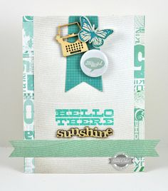 Hello There Sunshine by @Dawn Cameron-Hollyer McVey at Studio Calico - featuring HEYDAY  #StudioCalicoPinToWin