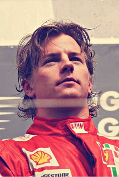The one and only Kimi Räikkönen...