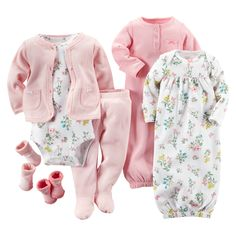 Did you know you need 4-6 sets and 2-4 gowns? Check out our complete new mom checklist at carters.com/littlelayette.