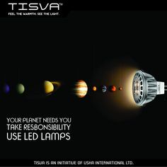 This New Year's resolve to do your bit for the planet. Go LED with TISVA