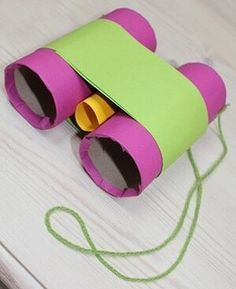 Make binoculars