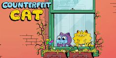 Counterfeit Cat is Headed to Disney XD