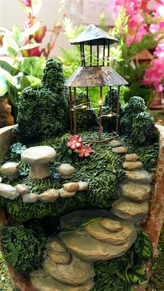 pictures of fairy garden villages - Yahoo Image Search Results