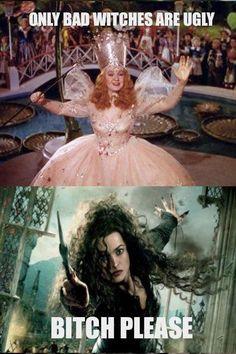 Bellatrix in the house! Representin'