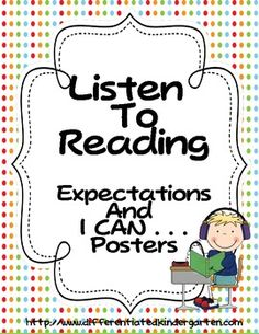 These posters are in three different styles from which you can choose. They are to help your students remember expected behaviors and instructions ...