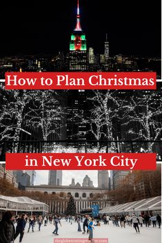 Very Helpful! Ultimate Cheat Sheet for your Christmas in New York City written by A Local! Everything you need to know before visiting NYC during the holidays. Super helpful tips for anyone thinking of spending the holidays in NYC! New York City Christmas, Christmas Travel, Holiday Travel, Winter Travel, White Christmas, Christmas Holiday, Christmas Markets, Holiday Ideas, New York Vacation