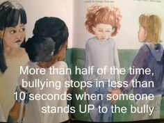 "Public Service Announcement - Stand UP to Bullying using ""Say Something"" book by Peggy Moss"