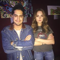 Elizabeth Gillies and Avan Jogia! Both looking great in Denim ♥️