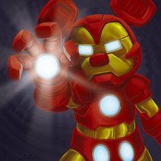 Mickey Mouse + Iron Man= Iron Mouse