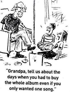The good ol' days!