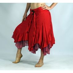 Layered Coco Skirt Red Renaissance Festival Costume Belly Dance Pirate... (2.635 RUB) ❤ liked on Polyvore featuring costumes, grey, skirts, women's clothing, gypsy belly dance costume, red costumes, womens costumes, pirate costume and womens pirate halloween costumes