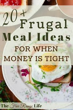Eat On A Budget, Budget Meal Planning, Cooking On A Budget, Tight Budget, Food Budget, Inexpensive Meals, Cheap Dinners, Easy Dinners, Super Cheap Meals