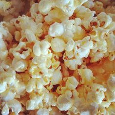make it perfect: .Healthier snacks. fructose-free caramel popcorn.