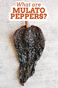 The Mulato pepper is a mild to medium dried poblano, similar to the ancho pepper, but with a slightly different flavor. The ancho is a poblano that ripens to a deep red, while the mulato is a poblano that ripens to brown, then is dried. Click here to learn more about them. #mulatopepper #peppers Spicy Chicken Recipes, Creole Recipes, Spicy Chili, Homemade Seasonings, Stuffed Poblano Peppers, Latin Food, Spice Blends, My Favorite Food, Love Food