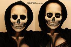 Skull Makeup by Lekstedt.deviantart.com on @deviantART