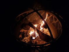 #fire #warmth Fire Fire, Winter Night