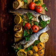 Wild Stuffed Sea Bass // Dennis The Prescott. Find this recipe and more Christmas Eve dinner inspiration on our Christmas Eve Feed at https://feedfeed.info/christmas-eve?img=193402 #feedfeed