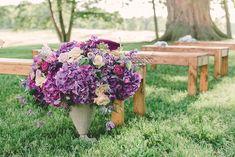 Photography : Bradley James Photography | Venue : Hidden Vineyard Wedding Barn Read More on SMP: http://www.stylemepretty.com/2014/08/25/rustic-elegance-wedding-inspiration/