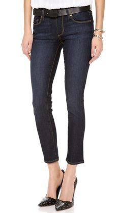 Paige Denim Kylie Crop Jeans   selected by jamesdrygoods.com for the made in america: contemporary project   #madeinusa  