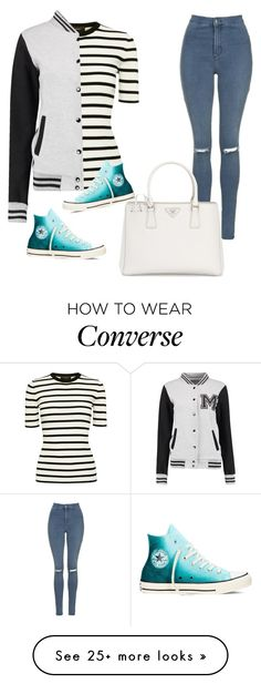 """""""Untitled #17"""" by blackoutfitlover on Polyvore featuring Theory, Topshop, Prada and Converse"""