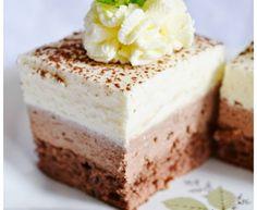 Čokoládovo-tvarohové kocky