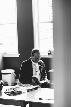 Wedding photography: Groom letter