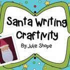 Use Santa's beard for a writing craftivity! Fun!!