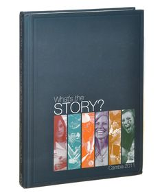 Yearbook theme - what's your story?.  NSPA - Contest Winners