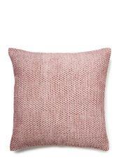Soft pink bobble cushion - 50x50cm