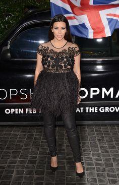 YIKES!!! Kim K's pregnancy fashion is QUESTIONABLE so far!!