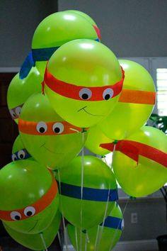 The top 20 Ideas About Ninja Turtle Birthday Ideas - Ainsley - ninja turtles birthday party.The top 20 Ideas About Ninja Turtle Birthday Ideas ninja turtles birthday party.The top 20 Ideas About Ninja Turtle Birthday Ideas - Ninja Turtle Party, Ninja Turtle Balloons, Ninja Party, Ninja Turtles, Teenage Turtles, Ninja Turtle Cakes, Turtle Baby, Diy Ninja Turtle Costume, Costume Ninja