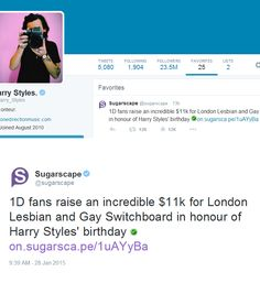 Harry favorited this tweet today (and it's at almost $13,000 right now :D)