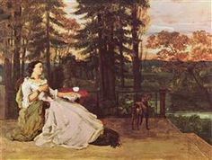 Woman of Frankfurt - Gustave Courbet