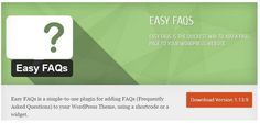 13 WordPress FAQ Plugins