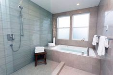 Tips, methods, furthermore resource when it comes to receiving the greatest outcome as well as attaining the max utilization of walk in shower remodel Bathroom Tub Shower, Shower Doors, Large Bathrooms, Bathroom Design Small, Bathroom Designs, Shower Installation, Picture Frame Decor, Walk In Shower Designs, Custom Shower