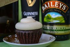 Irish Car Bomb Cupcakes :D