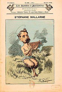 "Cover page from the first print of Stéphane Mallarmé's ""Prélude à l'après-midi d'un faune"""